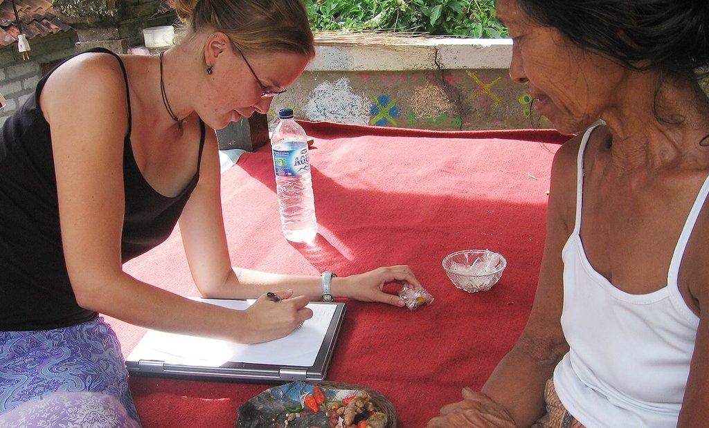Reisblogger Jenny in Indonesië