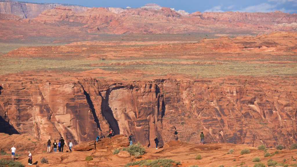 Horseshoe Bend featuring landscape views and desert views