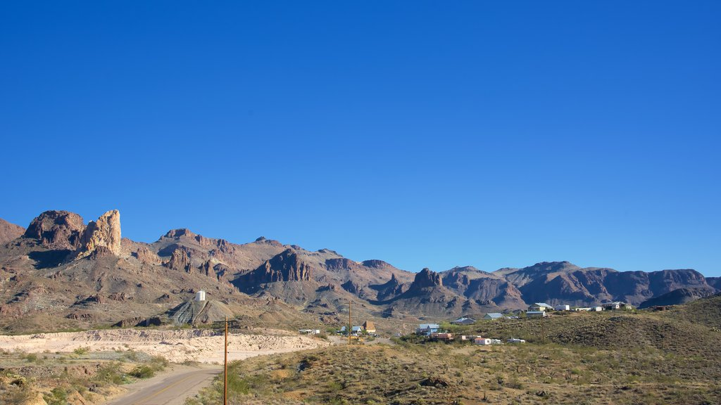 Oatman which includes mountains and tranquil scenes