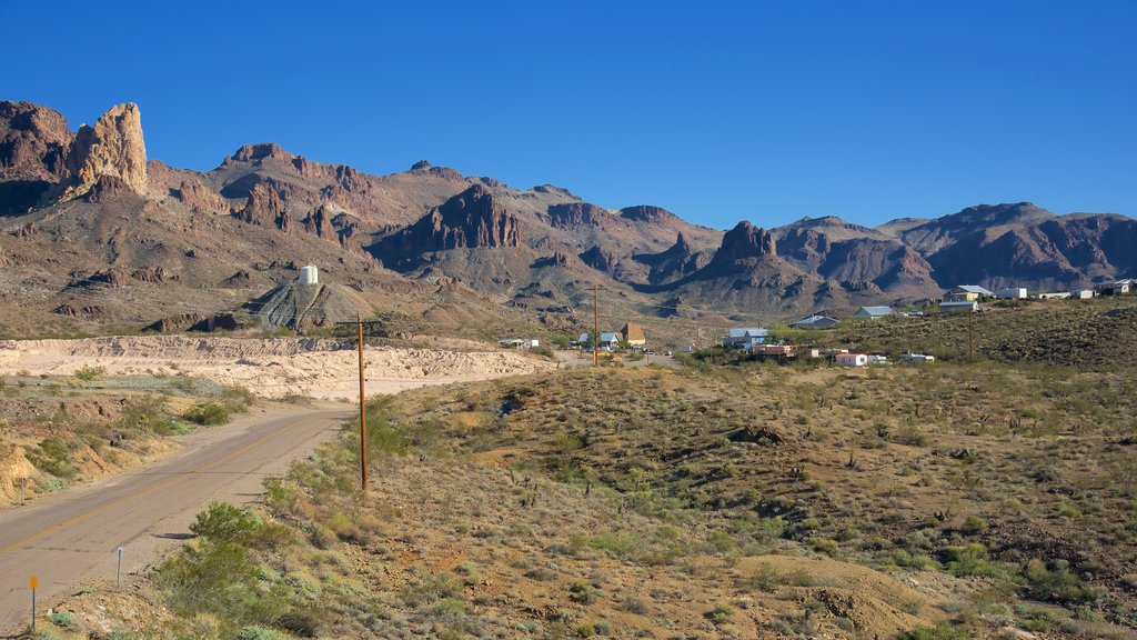 Oatman featuring mountains and tranquil scenes