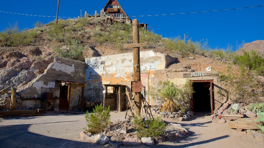 Oatman showing street scenes