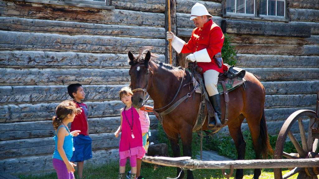 Lethbridge which includes horseriding as well as children