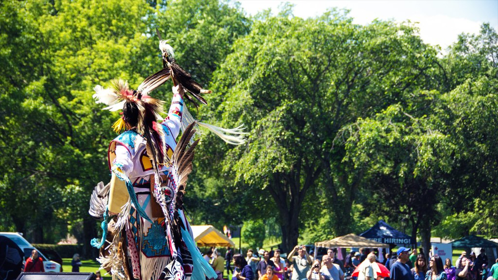 Prince George which includes performance art and indigenous culture