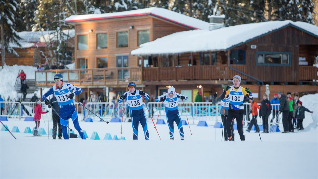 Prince George which includes snow skiing, a sporting event and snow