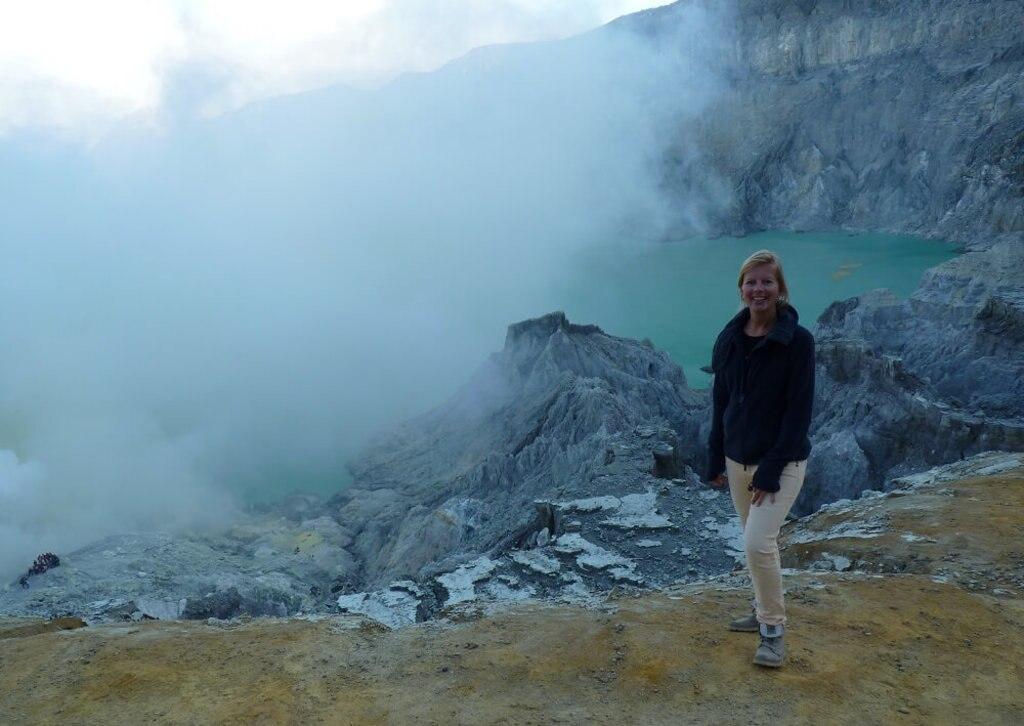 Chantal van Alleen op reis
