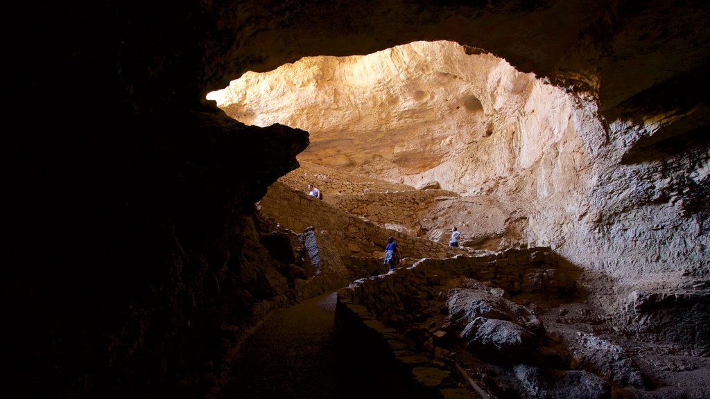 Carlsbad Caverns National Park which includes caves