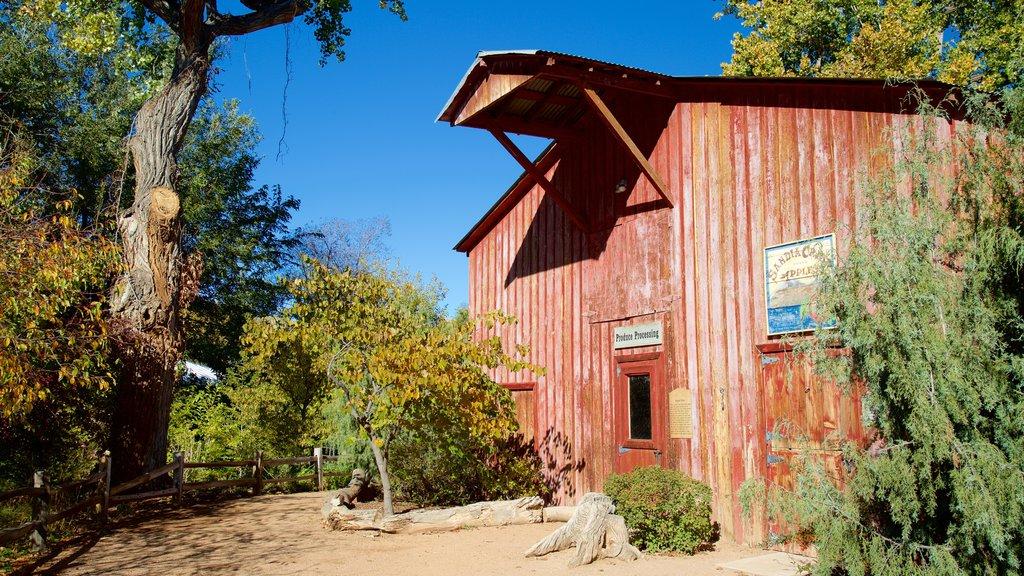 ABQ BioPark Botanic Garden showing a house
