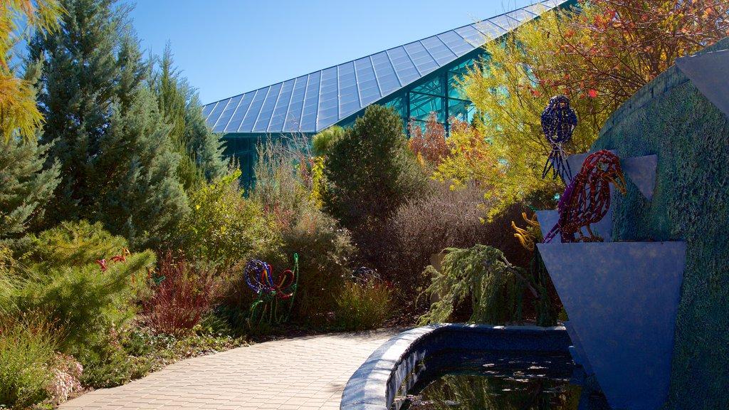 ABQ BioPark Botanic Garden which includes a park