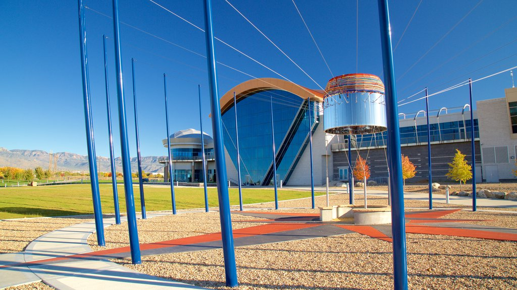 Anderson-Abruzzo Albuquerque International Balloon Museum featuring modern architecture