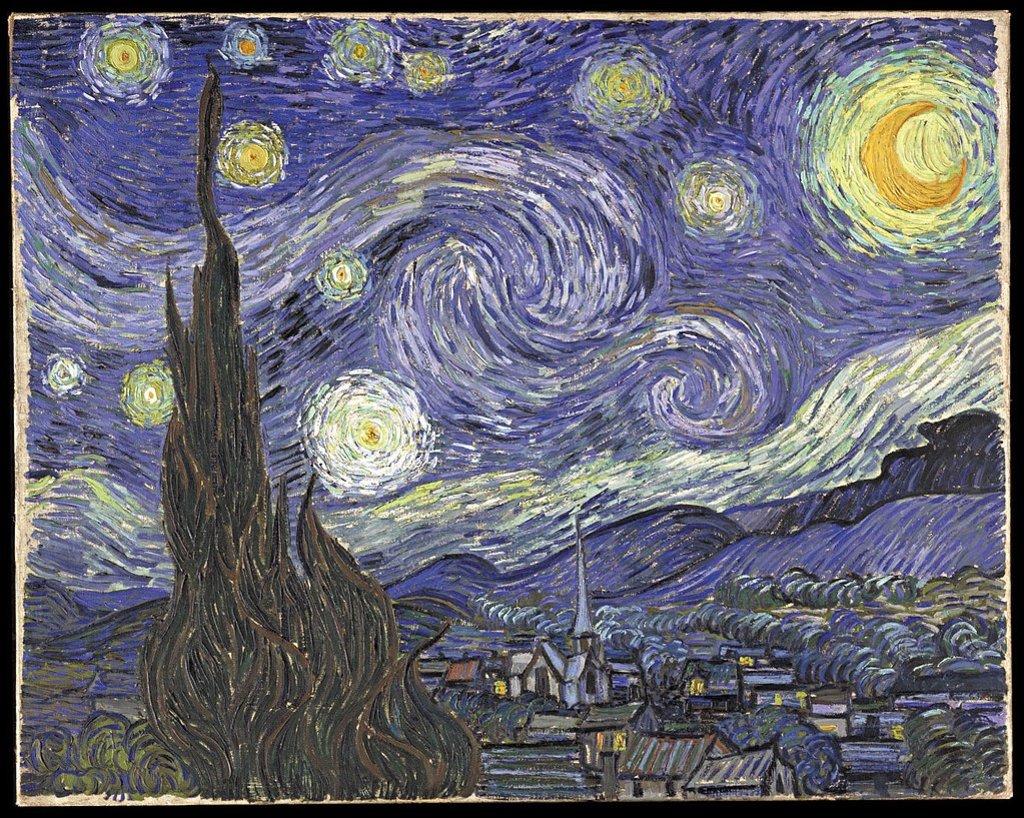 Dónde están los cuadros más famosos de Van Gogh| Explore de ...