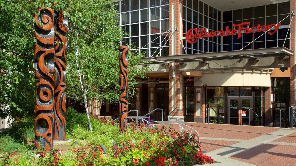 Bellevue Square which includes street scenes