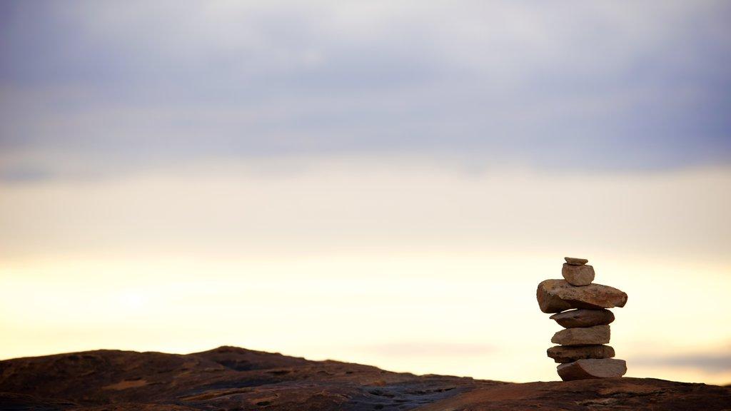 Canyonlands National Park featuring desert views