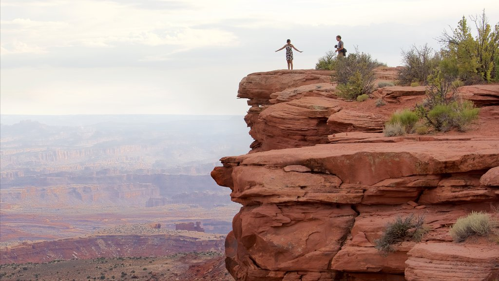 Canyonlands National Park which includes tranquil scenes, a gorge or canyon and desert views