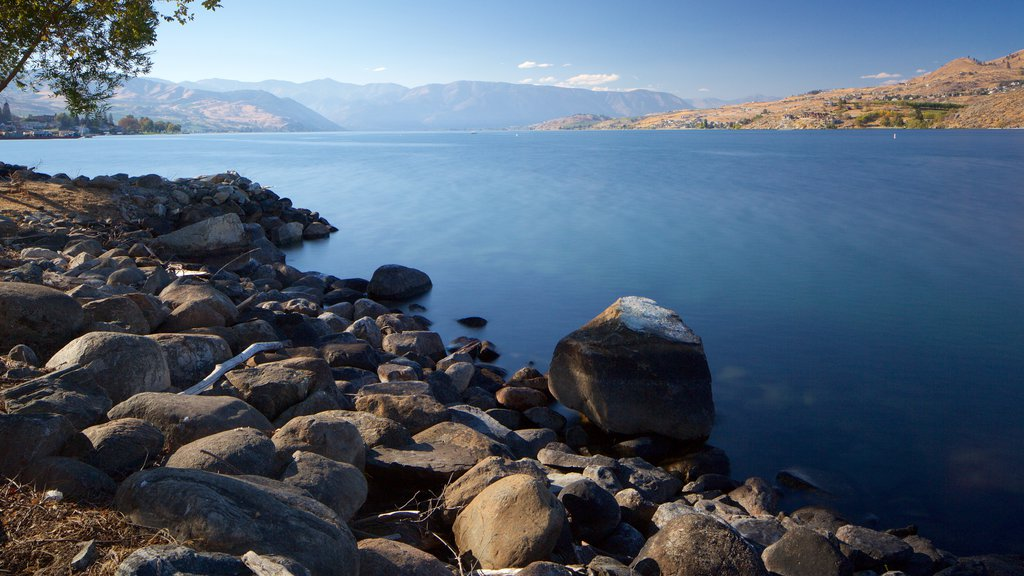 Lake Chelan featuring tranquil scenes and a lake or waterhole