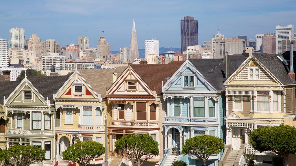São Francisco mostrando uma cidade e arquitetura de patrimônio