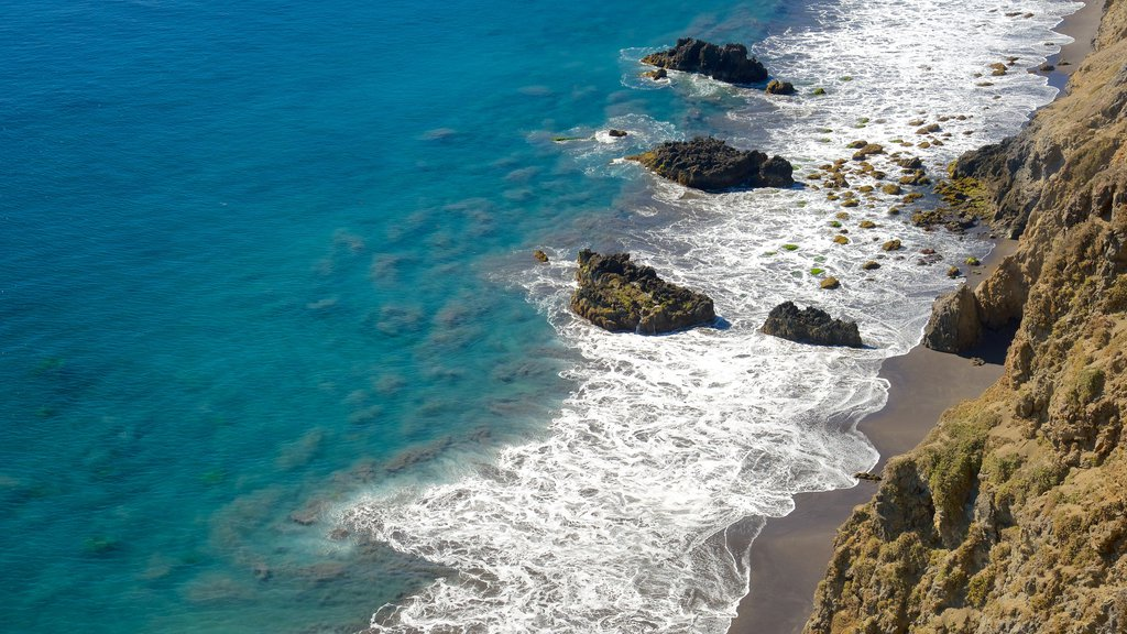 Channel Islands National Park featuring general coastal views and rocky coastline