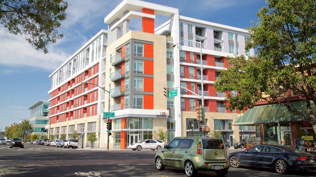 Redwood City ofreciendo escenas urbanas y una ciudad