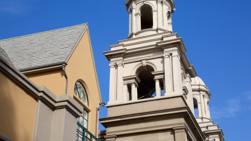 Western Addition que inclui arquitetura de patrimônio