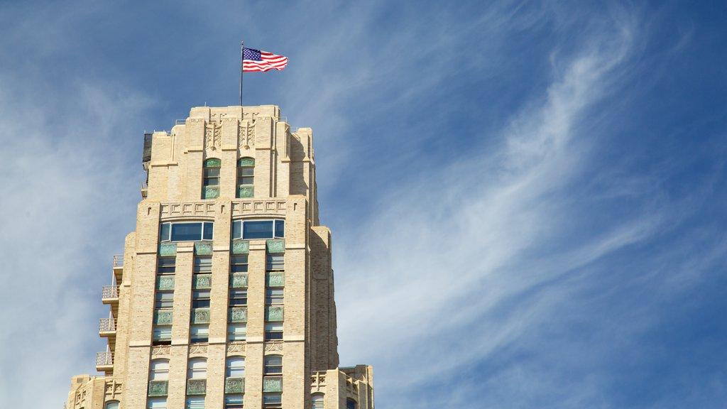 Civic Center mostrando um edifício administrativo