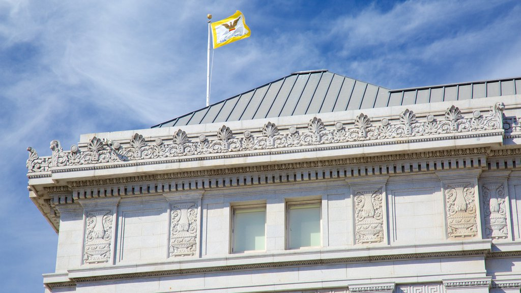 Civic Center caracterizando um edifício administrativo