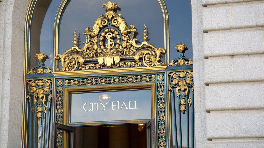 Civic Center que inclui um edifício administrativo