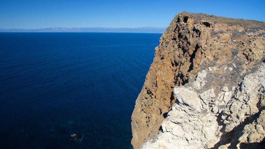 Ventura which includes rugged coastline