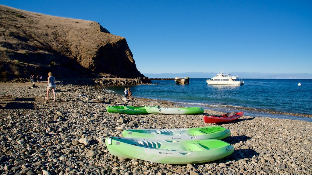 Ventura featuring kayaking or canoeing and a pebble beach