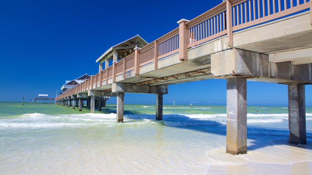 Clearwater Beach which includes a sandy beach