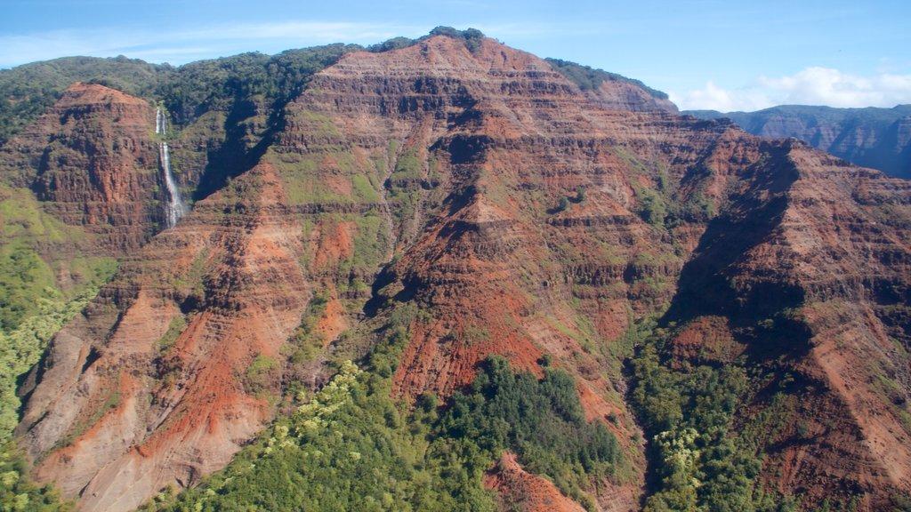 Waimea which includes mountains
