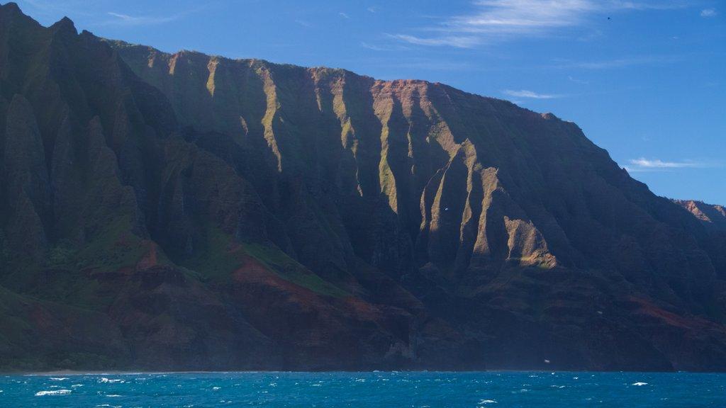 Kauai Island showing a gorge or canyon, general coastal views and island images