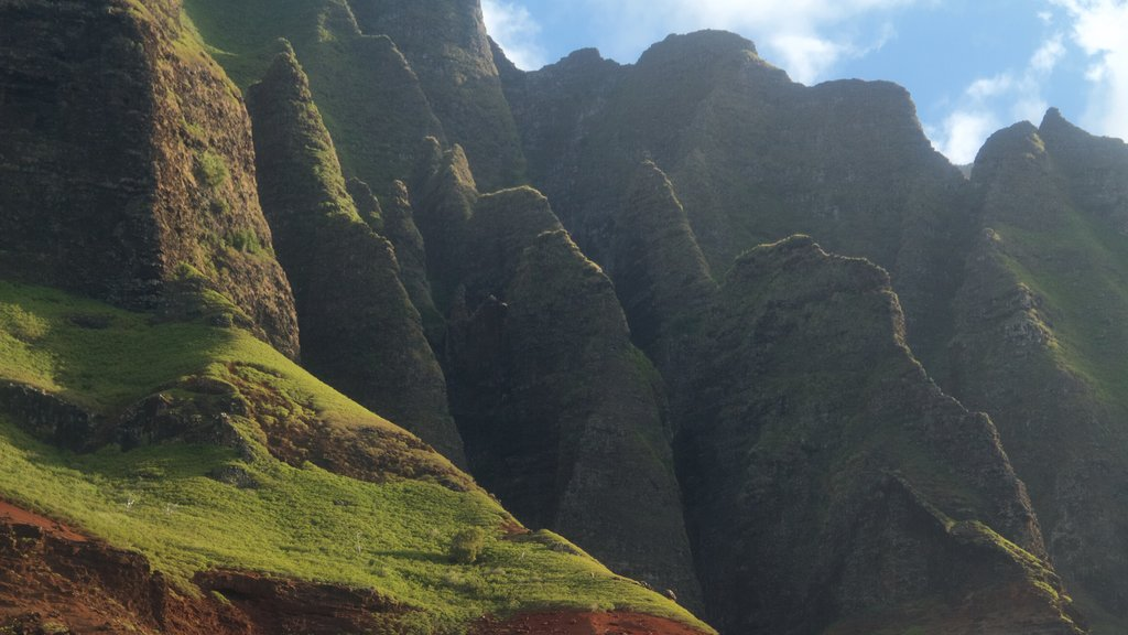 Hanalei featuring a gorge or canyon