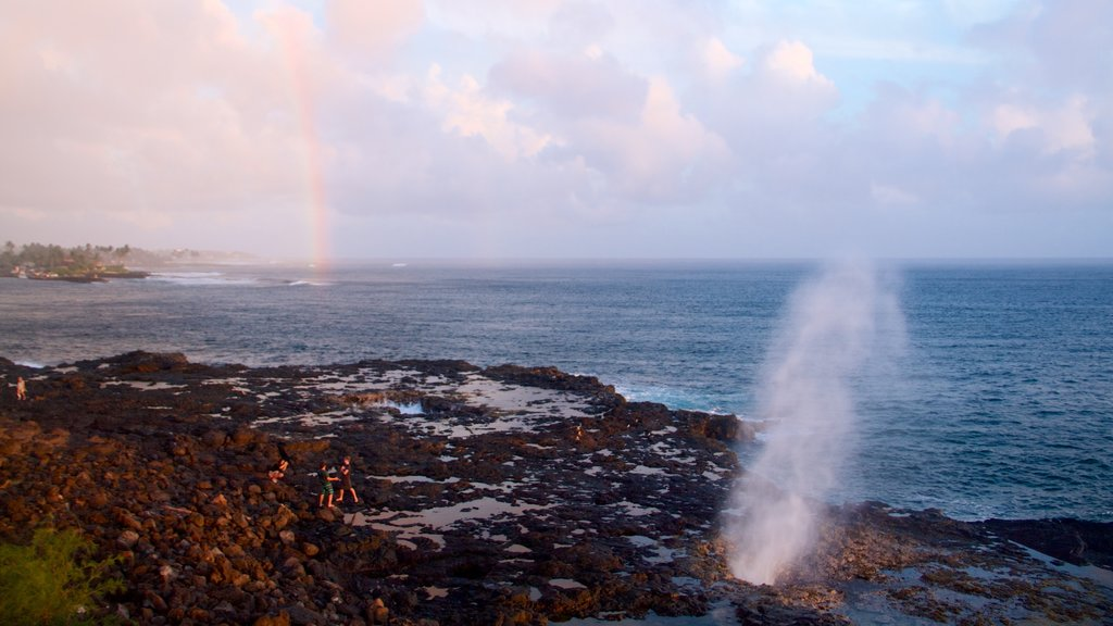 Spouting Horn featuring a pebble beach and general coastal views