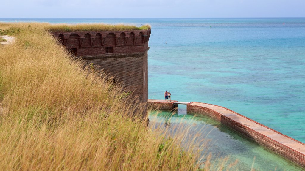 Dry Tortugas National Park which includes heritage architecture and general coastal views as well as a couple