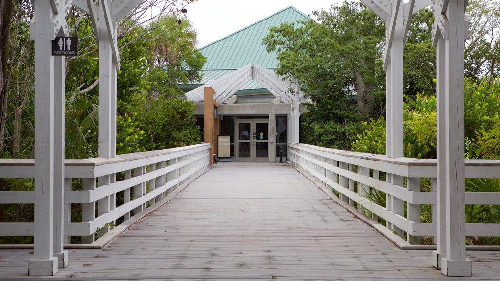 Everglades National Park featuring a bridge