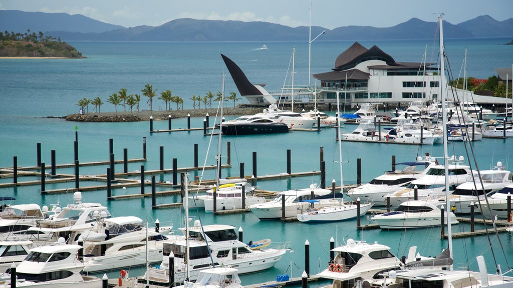 Hamilton Island Marina featuring general coastal views, a bay or harbor and boating