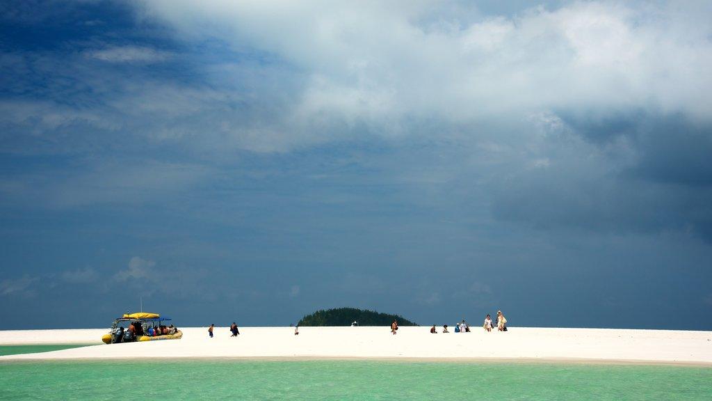 Hamilton Island featuring a sandy beach and landscape views