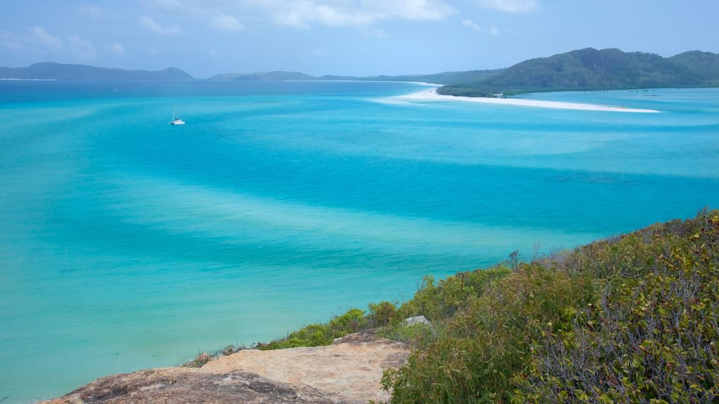 Whitsunday Island showing general coastal views