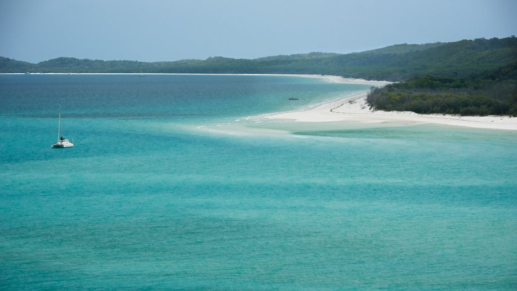 Whitsunday Island which includes general coastal views and tropical scenes