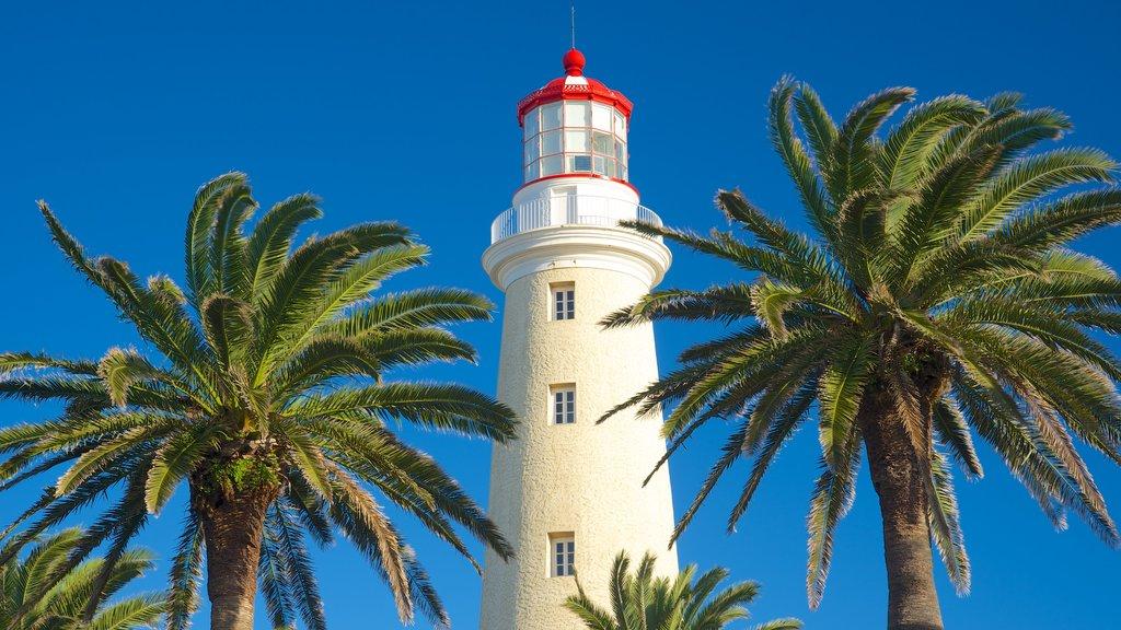 Punta del Este showing a lighthouse