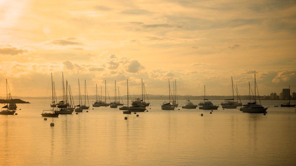 Punta del Este featuring general coastal views, sailing and landscape views