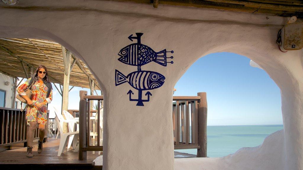 Punta Ballena showing interior views as well as an individual femail
