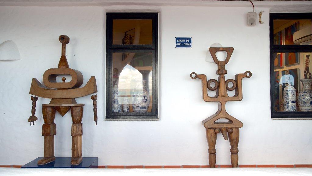 Punta Ballena featuring art