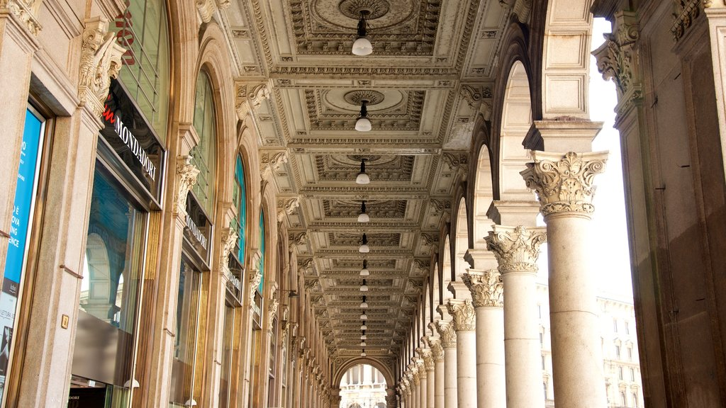 Milan featuring heritage architecture
