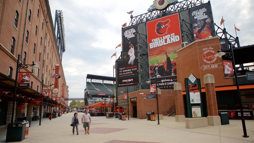 Oriole Park at Camden Yards as well as a couple