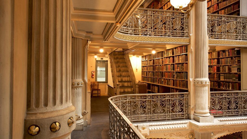 Peabody Institute of the John Hopkins University which includes interior views and heritage elements