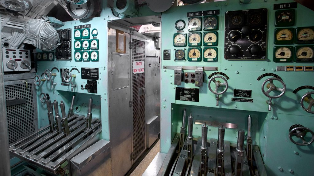 USS Torsk which includes interior views