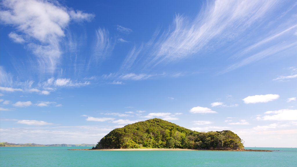 Paihia featuring a bay or harbor and island images