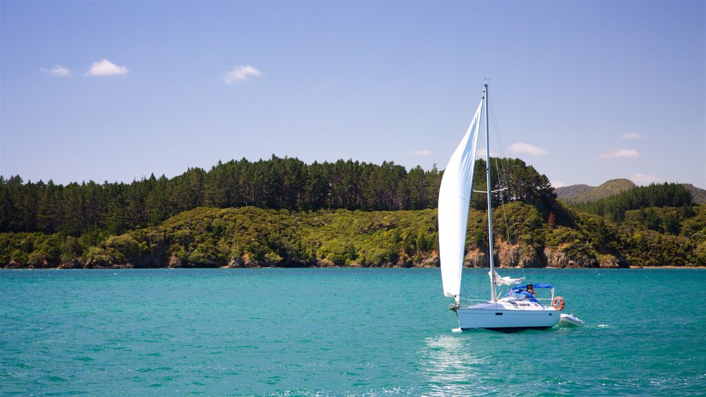 Russell featuring sailing and a bay or harbor