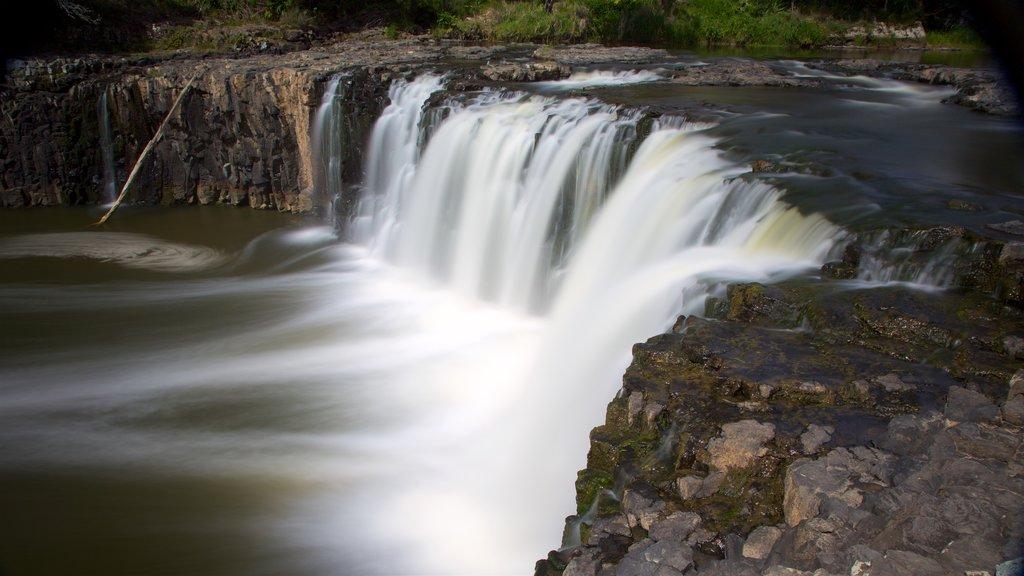 Haruru Falls showing a cascade and a river or creek