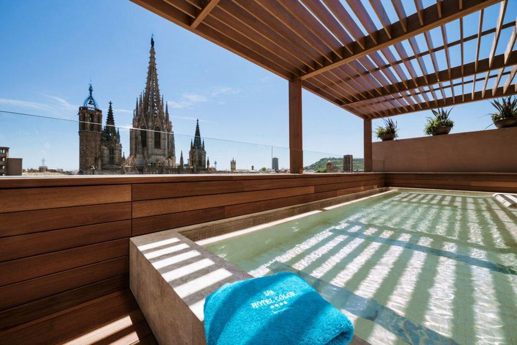 view of Gaudi